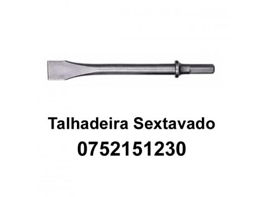 Cinzel Talhadeira Longo Sextavado para Martelete MXT-1513 Maxx Tools