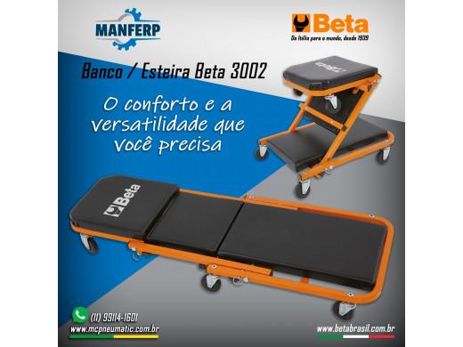 Esteira e Banco de Mecânico 3002 Marca Beta