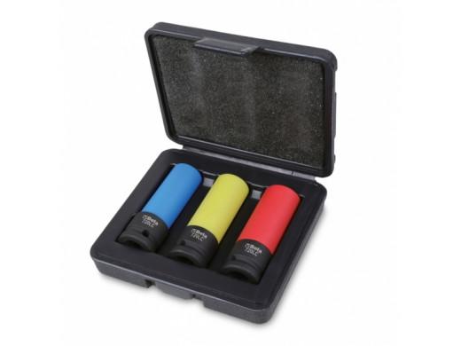 3 Soquetes de Impacto Para Porcas de Rodas com Proteção de Polímero 720LC/C3 Beta