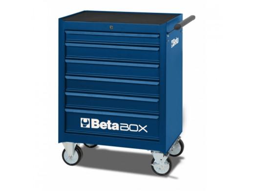 Carro de Ferramentas com 6 Gavetas Azul - C04-BOX-B Marca Beta