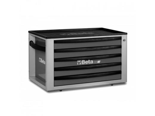 Caixa de Ferramentas com 5 Gavetas Cinza C23ST-G Marca Beta