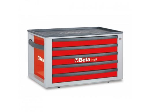 Caixa de Ferramentas com 5 Gavetas Vermelho C23ST-R Marca Beta