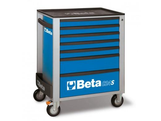 Carro de Ferramentas com 7 Gavetas Azul C24S/7-B Marca Beta