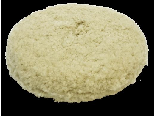 "Boina de Lã 8"" Dupla Face Natural Para Polimento Sigma Tools"