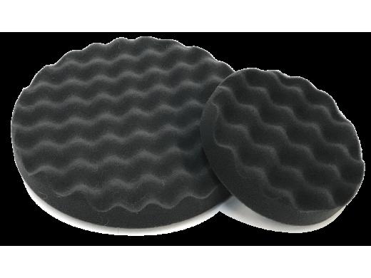 """Boina de Espuma 5"""" Waffle Preta T10 Para Suporte Velcrado Sigma Tools"""