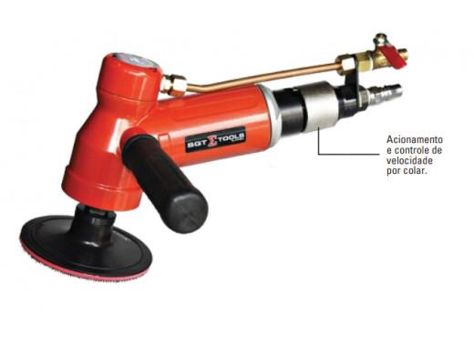 """SGT-0331 – Lixadeira 4"""" Pneumática a Úmido Sigma Tools"""