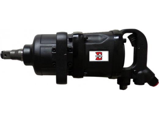 """SGT-0564 - Chave de Impacto Eixo Curto 1"""" Pneumática Reta Sigma Tools"""