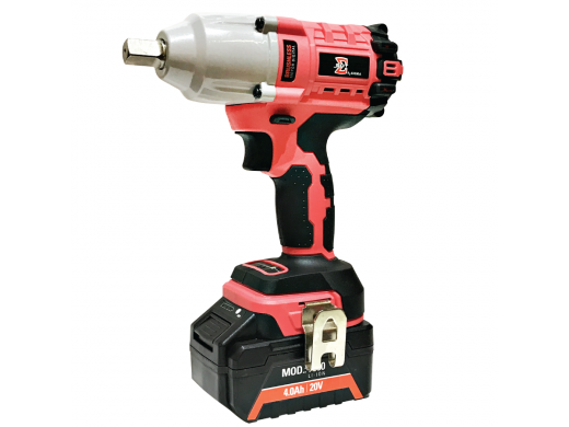 """Chave de Impacto à Bateria 20V Encaixe Quadrado 1/2"""" Sigma Tools SGT-7500"""