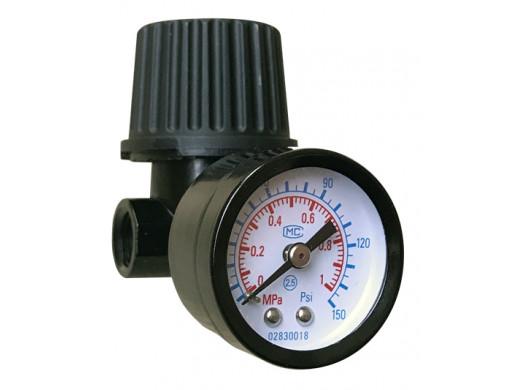 "VRP-04 - Regulador de Pressão 1/4"" Sigma Tools"