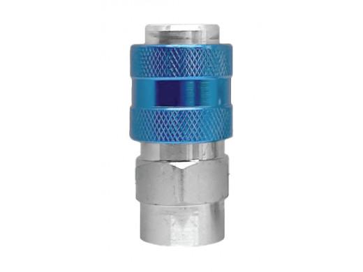 Engate Rápido Europeu Um Toque SFE-20 Rosca Fêmea 1/4 Sigma Tools