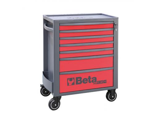 Carro de ferramentas com 7 gavetas Vermelho RSC24/7-R Beta